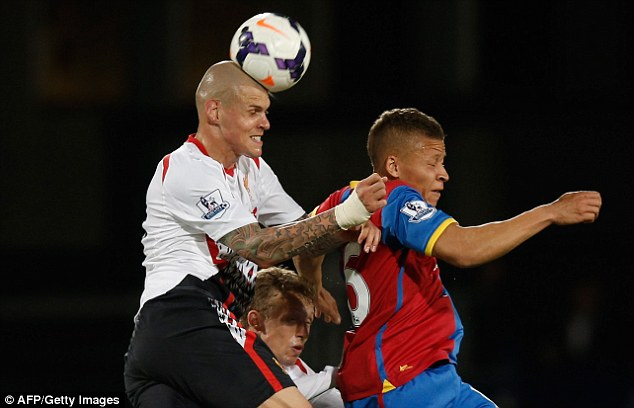 Hard man: Martin Skrtel has been a rock at the heart of the Liverpool defence