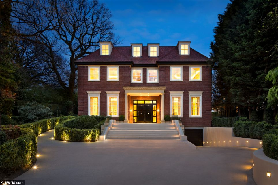 Exclusive: Barry Angel, managing director of Albany Homes, said that Fairways is 'a grand mansion, situated on one of London's most expensive addresses, set off the avenue and enjoying luscious green surroundings'