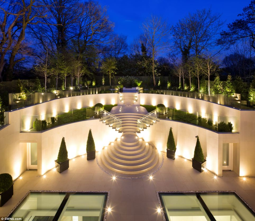 Fame: The Bishops Avenue, near Highgate and Hampstead in north London, was last year ranked as the second most expensive street in Britain and as one of London's most illustrious addresses is a favourite for foreign royalty, oligarchs and celebrities