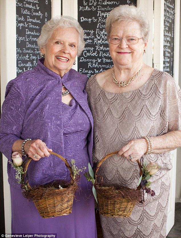 Perfect for it: Calling themselves 'fairy grandmothers,' the women accepted their roles with ecstatic gusto