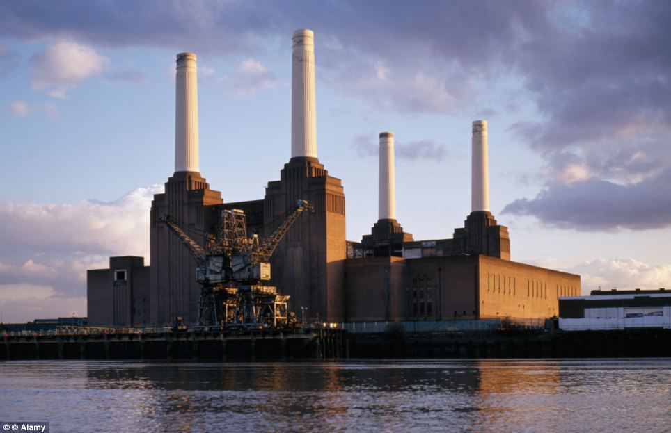 Iconic: The huge Battersea facility has been a feature of the London sky-line since it began operating in 1933, and has been given Grade II* listed status