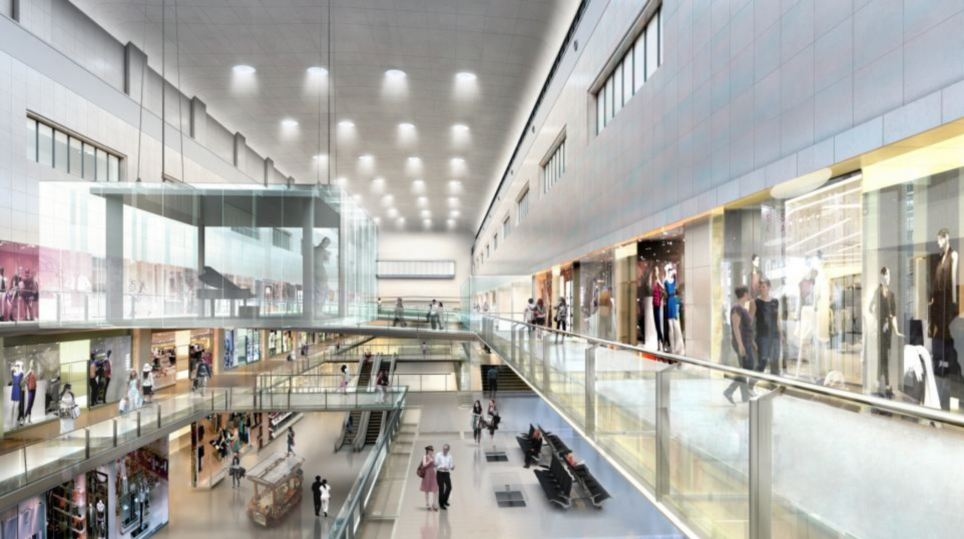 Desirable: A total of 3,500 new homes will be right new to the new shopping mall and cinema complex, with the redevelopment expected to create 15,000 new jobs