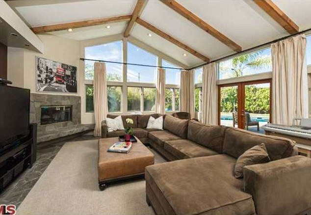 New digs: Blunt and Krasinski snapped up this Hollywood Hills home in early May for $2.75m
