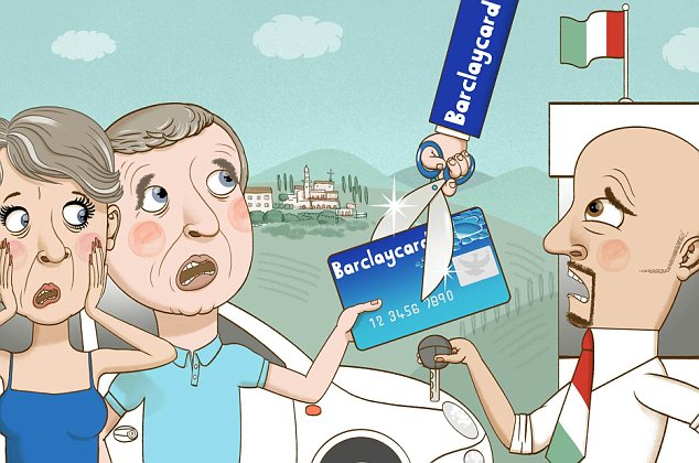 Barclaycard: We have been using this card for five years without a problem