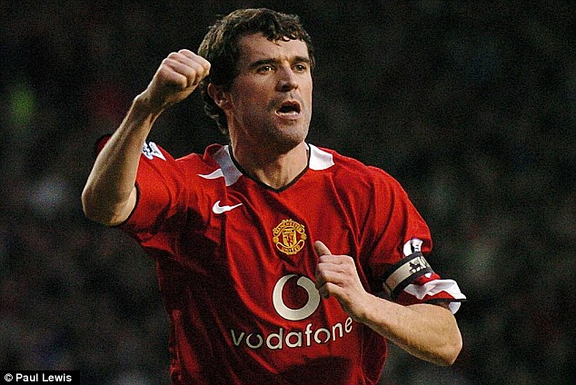 Been there and done it: Keane spent 12 years at Old Trafford and made over 300 appearances for United