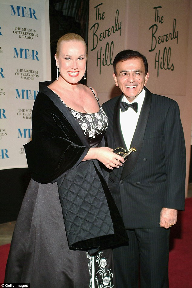 Wife and husband: Casey and his wife Jean, shown in 2004 in Holllywood, California, have been married since 1980
