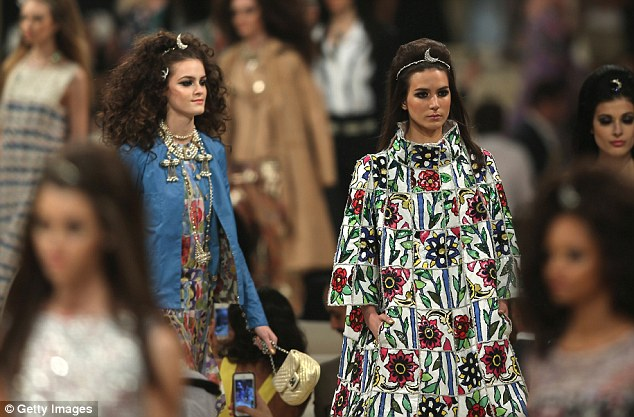 The latest trends: Two models show off Chanel's Cruise Collection in Dubai