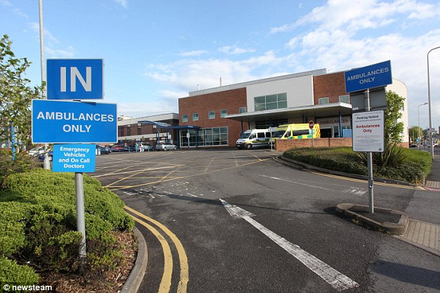 Taken by ambulance: Gauravdeep died after being transferred to Sandwell General Hospital (pictured)