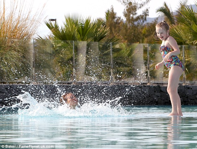 Whoah! Madison shows Chloe who rules the roost as she plunges her mother in the water