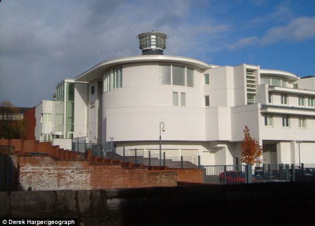 Court: Mr Wickens lost his temper when he was left alone with baby Riley Gardener at the family home in Paignton, Devon. He was today jailed for six years and five months for manslaughter at Exeter Crown Court