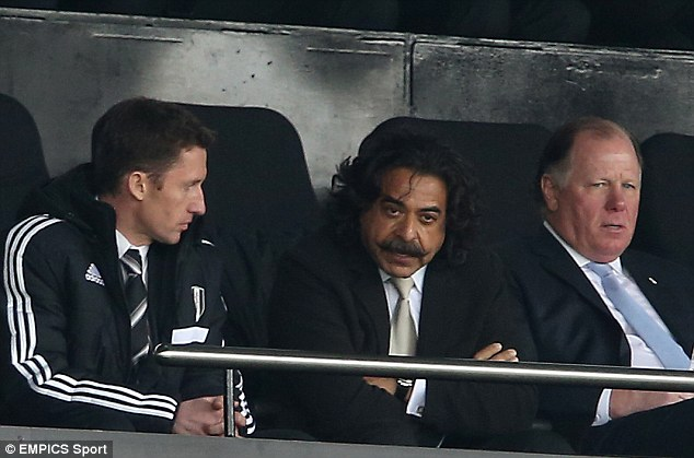 Not part of the plan: Shahid Khan says he will invest to help Fulham return to the Premier League as soon as possible
