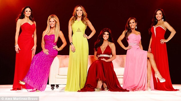 New cast: The season six cast announcements for RHONJ include not only Dina but new members Teresa Aprea, Nicole Mauriello and Amber Marchese along with staples Melissa Gorga and Teresa Giudice
