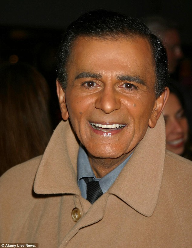 Search: Radio host Casey Kasem has been officially listed as a missing person a week after the 82-year-old was removed from his Santa Monica care home