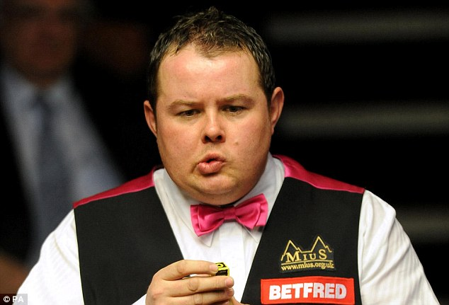 Caught out: Stephen Lee was found guilty of fixing seven games of snooker in 2008 and 2009
