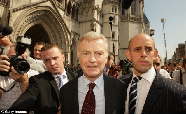 French judges last year ordered Google to stop providing links to images of the sadomasochistic private life of former Formula One chief Max Mosley