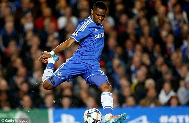 On the move: The decorated striker is now out of contract at Chelsea and looks to be heading elsewhere