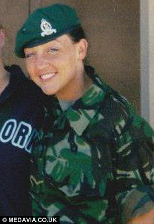 Miss Kavanagh fulfilled her dream by joining the Adjutant General's Corps and, despite injuries, served in the army over a period of 12 years, eventually reaching the rank of Lance Corporal