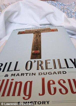 He joked that Bill O'Reilly's book Killing Jesus is just what he needs to fall asleep