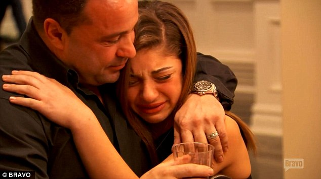 Confrontation Joe Giudice comforts his daughter Gia in new teaser for season six of RHONJ