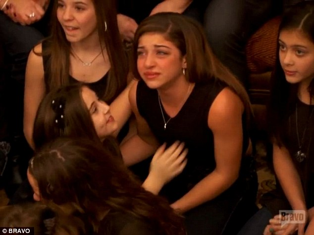 Heartbreaking: Gia fights back tears as her parents open up about their legal woes
