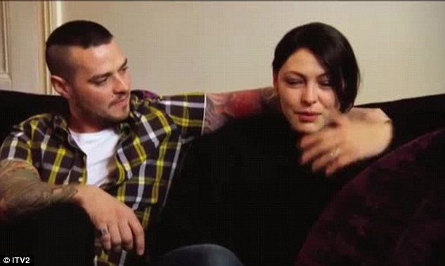 Emotional: Emma Willis is comforted by her husband, McBusted's Matt Willis, as she reveals how she helped him through rehab