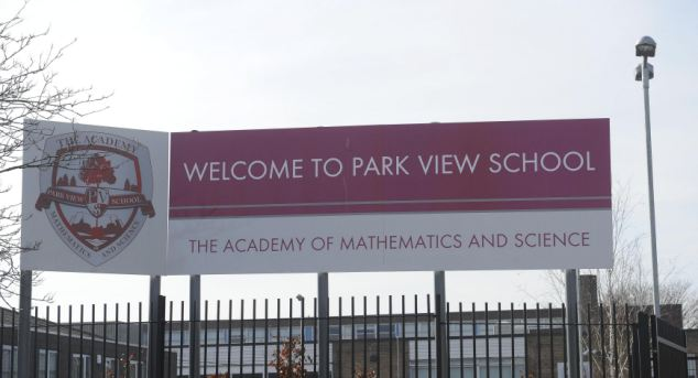 The Park View School in Birmingham - which, according to whistleblowers, has been infiltrated by Islamic extremists who are attempting to change the school and target young people