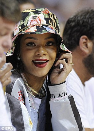 Does this mean the bucket hat is back? Trendsetter Rihanna was seen sporting a floral design during the Eastern Conference Semifinals NBA playoff game last fortnight