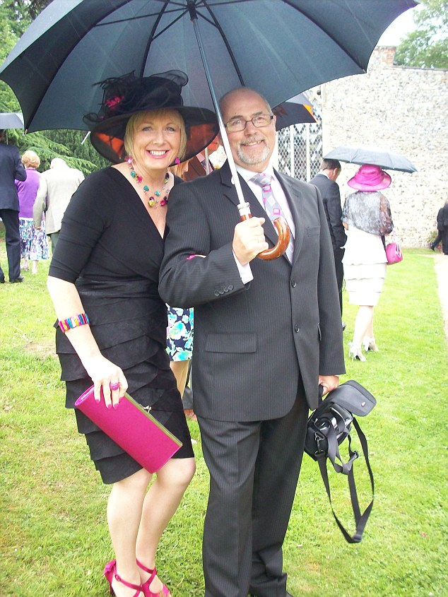 Devastated at the loss of Ryan, Mrs Weston was still reeling from the loss of her husband John, pictured, nine months earlier. The 62-year-old died of a massive heart attack in March 2011
