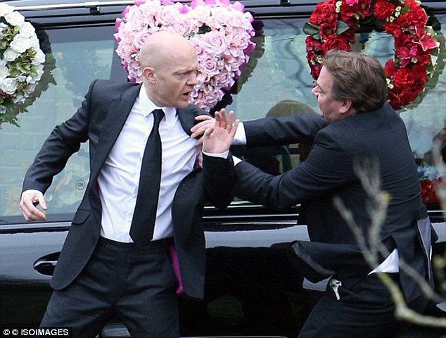 Rest In Peace? Lucy's funeral is anything but peaceful as Ian confronts Max