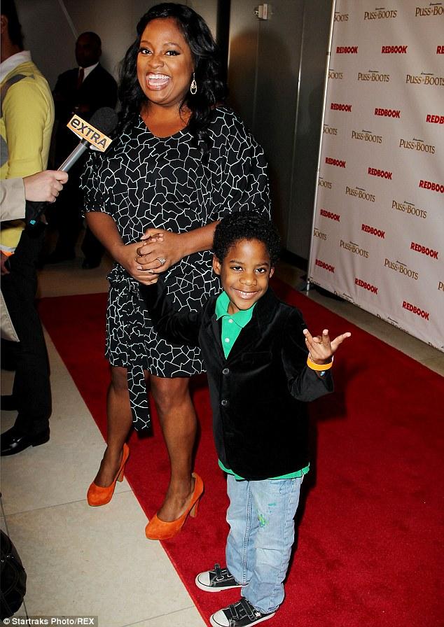 Custody battle: Sherri is locked in a battle over her son Jeffrey Jr., pictured in New York in 2011