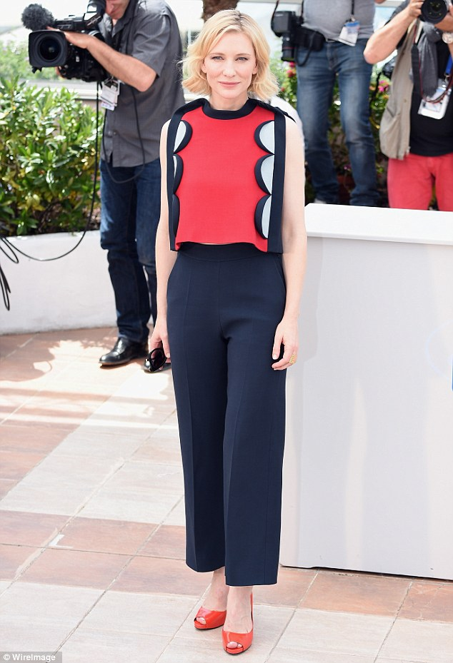 Style hit: Cate Blanchett wowed at the How To Train Your Dragon 2 photocall at the 67th Annual Cannes Film Festival