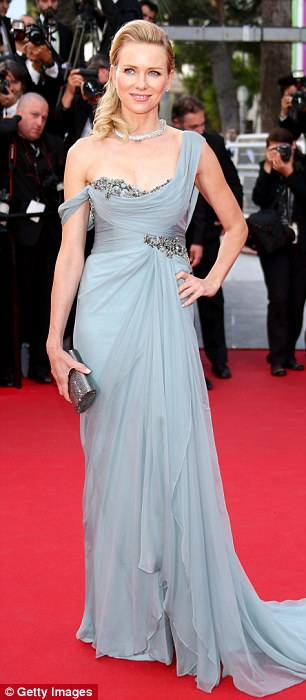 Working it: Watts looked incredible from every angle and certainly looked confident as she took in the moment