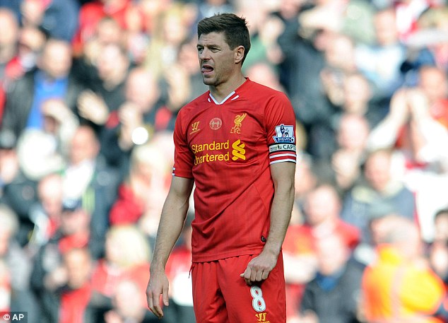 Leader: England may be looking to Liverpool captain Steven Gerrard to part with his wisdom