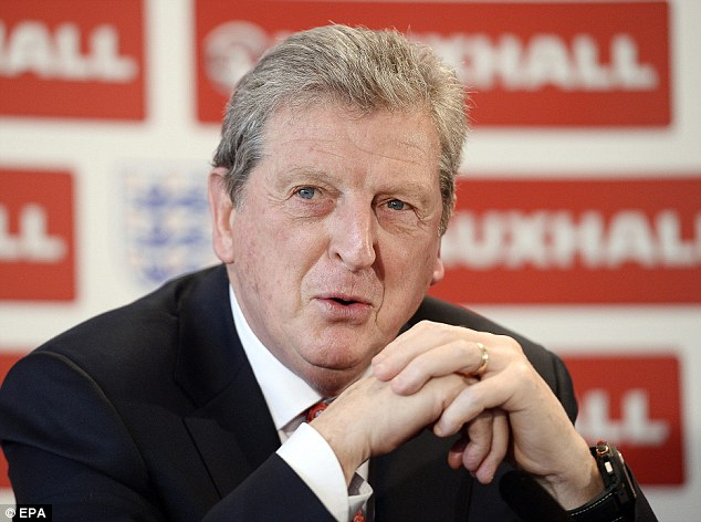 Experience: Hodgson picked his 23-man squad for the World Cup in the hope of surprising people