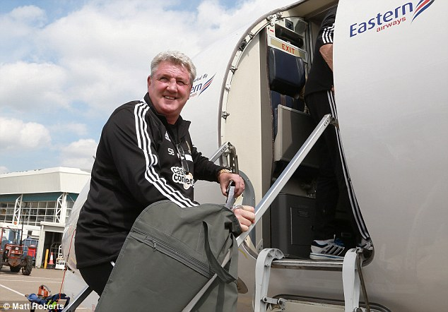 All smiles: Hull manager Steve Bruce is hoping Saturday's FA Cup final can erase his Wembley misery