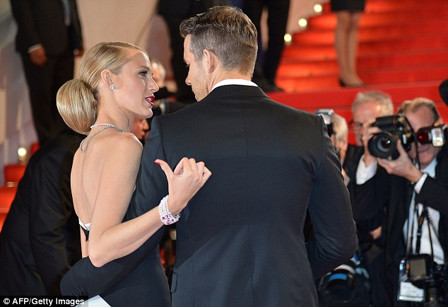 Private chat: The duo shared some banter before entering the premiere