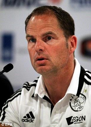 Going Dutch? Frank de Boer