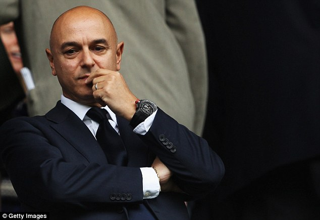 Let's get together! Daniel Levy has confirmed that Tottenham would consider ground-sharing