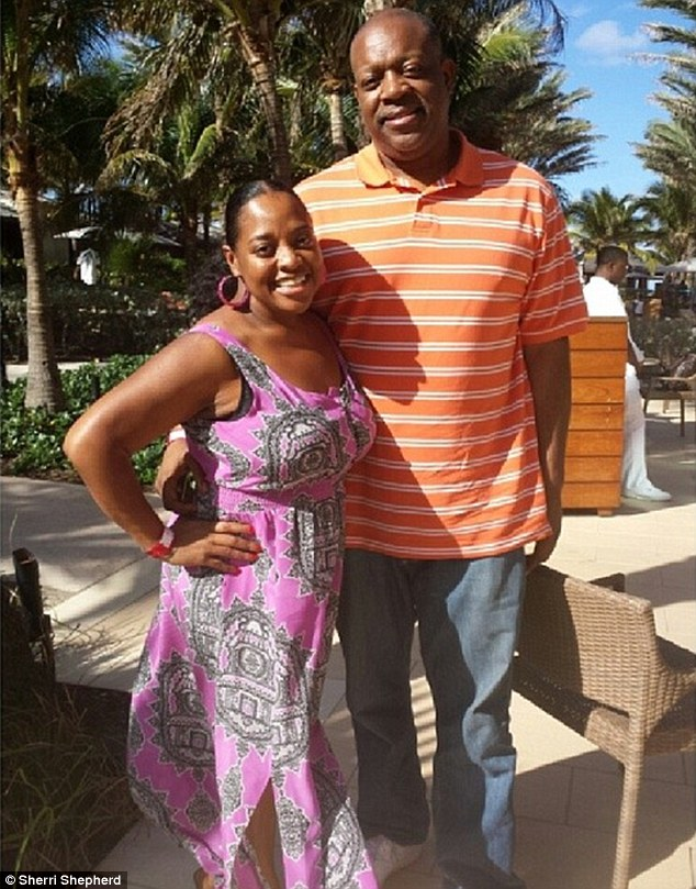 Furious: Lamar Sally has warned his estranged wife Sherri Shepherd that he will consider it an 'unforgivable sin' if she misses the birth of their child via surrogate in July
