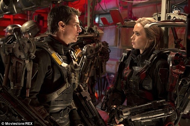 New role: Tom Cruise and Emily Blunt star in upcoming sci-fi thriller Edge Of Tomorrow