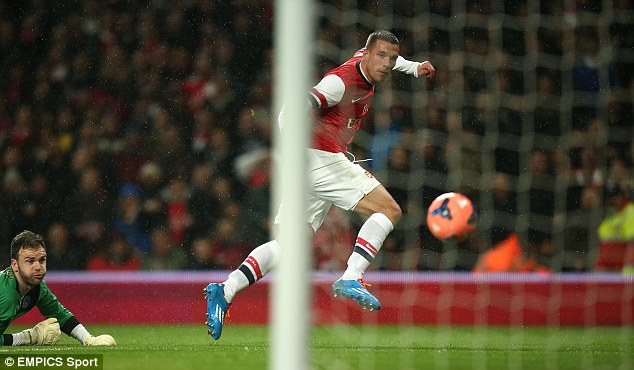 Firing them to glory: The Gunners are hoping to end a nine-year trophy drought at Wembley on Saturday