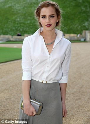 Young wealth: Emma Watson featured in the Young Rich List