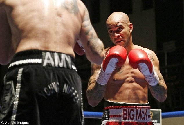 Winner: Leon McKenzie got the better of Danny Brown in a gutsy battle of wills