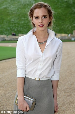 Wealth and beauty: Emma Watson featured in the Young Rich List