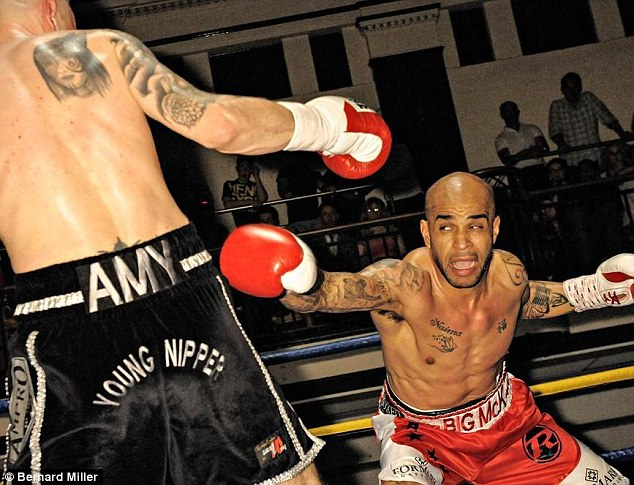 Ready to rumble: Leon McKenzie (R) beat Danny Brown on points at York Hall