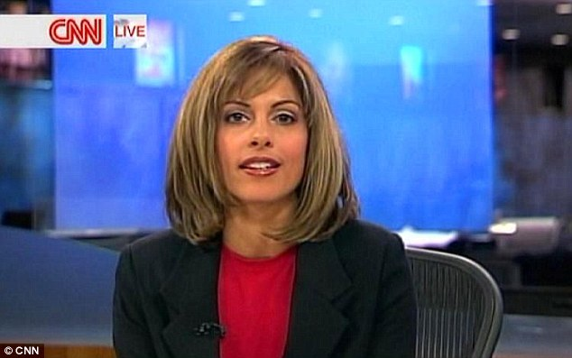 The journalist has not looked back since quitting her high flying job as a CNN news anchor