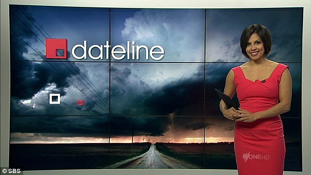 Rao hosts Dateline on SBS and is happy to call Australia home again after a stressful stint abroad