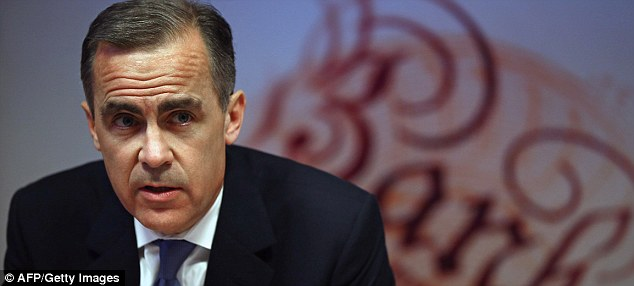 Warning: Mark Carney has said the Bank of England will be keeping a close eye on the UK's booming housing market.
