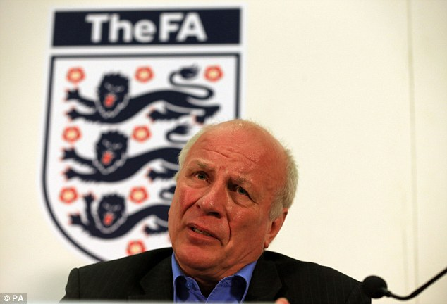 Change of mind: FA Chairman Greg Dyke also offered private sympathy but public outrage