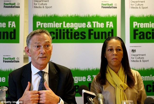 Critis: Sports minister Helen Grant was another to condemn Scudamore